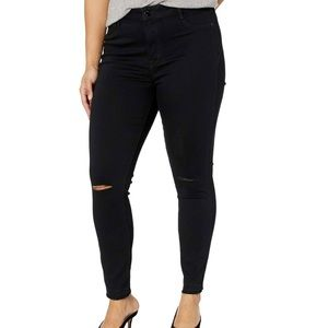 William Rast | High Rise Knee Slit Skinny Jeans